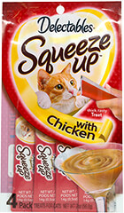 Delectables™ Squeeze Up Cat Treat with Chicken