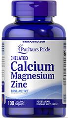 Chelated Calcium, Magnesium, Zinc