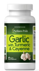Garlic with Turmeric & Cayenne 600 mg