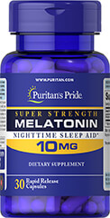 Melatonin 10 mg Trial Size