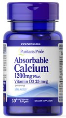Absorbable Calcium 1200 mg Plus Vitamin D3 25 mcg Trial Size