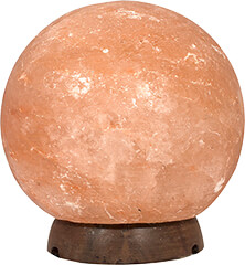 Himalayan Salt Sphere/Globe Shaped Lamp