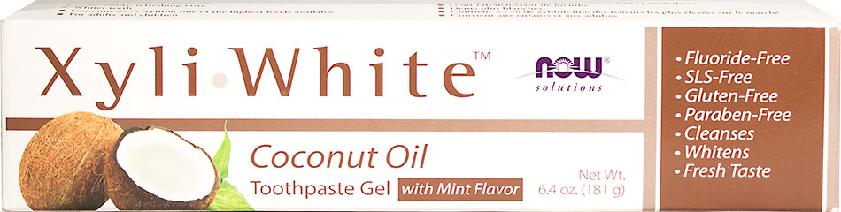 Mint Flavor Coconut Oil Toothpaste