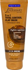 5-in-1 Total Control Clay Mask with Whiskey Rye