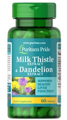 Milk Thistle & Dandelion Extract