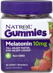 Melatonin 10 mg Strawberry Gummies