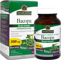 Bacopa Extract Standardized 500 mg