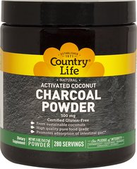 Activated Coconut Charcoal Powder 500 mg