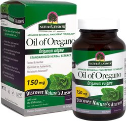 Oil of Oregano Standardized Extract 150 mg