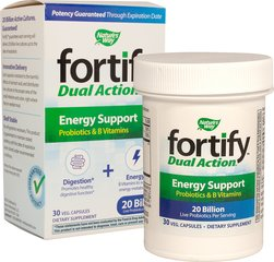 Fortify™ Probiotic Dual Action Energy Support