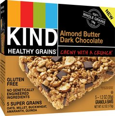KIND Healthy Grains Granola Bars, Almond Butter Dark Chocolate