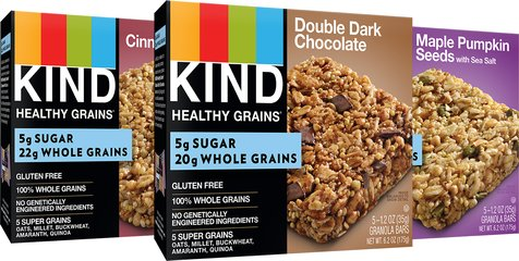KIND Low Sugar Granola Bar Variety Pack, 15ct