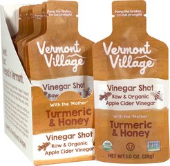 Turmeric and Honey Vinegar Shot