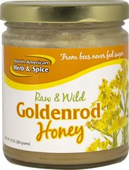 Raw and Wild Goldenrod Honey