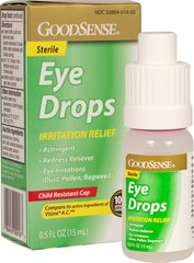 Irritation Relief Eye Drops