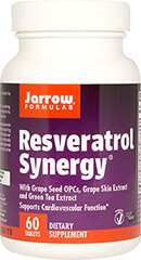 Resveratrol Synergy with Grapeseed and Green Tea Extract