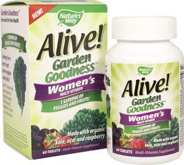 Alive! Garden Goodness Women's Multi-Vitamin