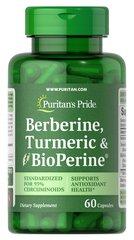 Berberine, Turmeric & BioPerine® Black Pepper