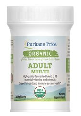 Organic Adult Multi with Zinc