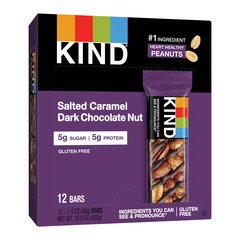 KIND Nuts & Spices Salted Caramel Dark Chocolate