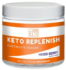 Keto Replenishment Electrolyte Powder Mixed Berry