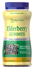 Elderberry Gummies with Vitamin C, D & Zinc