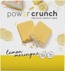 Power Crunch Lemon Meringue