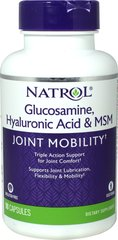 Hyaluronic Acid, MSM & Glucosamine Shellfish Free