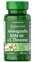 Ashwagandha KSM-66® & L-Theanine