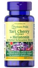 Tart Cherry Extract Plus Melatonin & Herbal Relaxation Blend