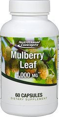 White Mulberry Leaf Extract 1,000 mg