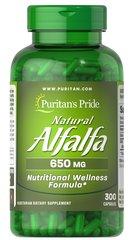 Natural Alfalfa 650mg