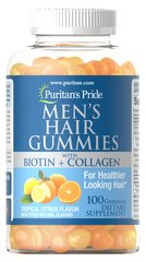 Men's Hair Gummies with Biotin and Collagen