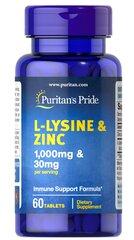L-Lysine and Zinc