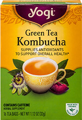 Green Kombucha Tea