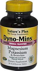Dyno-Mins Magnesium Potassium with Bromelain