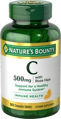 Nature's Bounty® Vitamin C Chewables 500MG