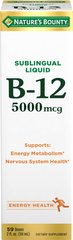 Nature's Bounty® Super Strength B12 5000 mcg Liquid