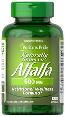 Naturally Sourced Alfalfa 500mg