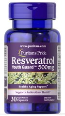 Resveratrol 500 Mg 60 Capsules Resveratrol Supplements