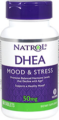 DHEA 50 mg with Calcium 60 mg