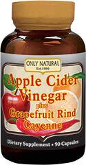 Apple Cider Vinegar Plus Grapefruit Rind & Cayenne