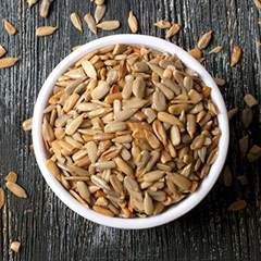Roasted Salt Free Sunflower Kernels