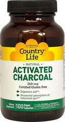Natural Activated Charcoal Capsules