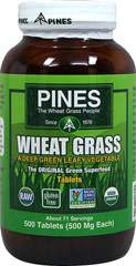 Organic Wheat Grass 500 mg
