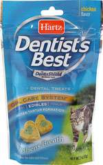 Dentist's Best Dental Treats for Cats & Kittens