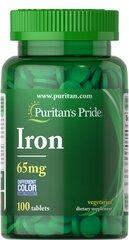 Iron 65 mg (Ferrous Sulfate 325 mg)
