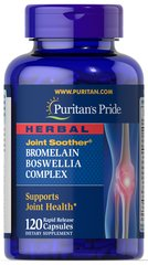 Herbal Joint Soother® Bromelain Boswellia Complex with Turmeric