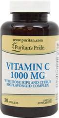 Vitamin C 1000 mg with Rose Hips and Citrus Bioflavonoid Complex
