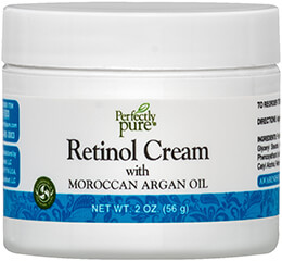 Retinol Cream with Moroccan Argan Oil